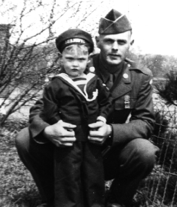 David and Dad in 1948